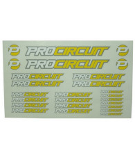 Autocollants Procircuit - PROCIRCUIT - PC0004
