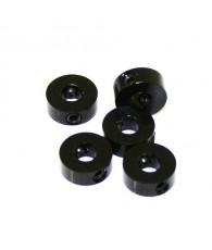 Bague d'arret 4mm Noir (x5) - ULTIMATE - UR1862