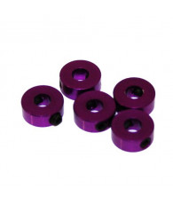 Bague d'arret 4mm Violet (x5) - ULTIMATE - UR1863