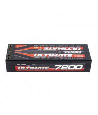 ULTIMATE 7.4V 7200 mAh 110C LiPo BATTERY STICK PK4 - UR4421 - ULTIMAT