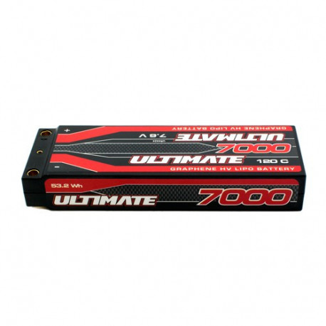 Accu Lipo 2S HV GRAPHENE Stick 120C 7000mah PK5  - ULTIMATE - UR4424