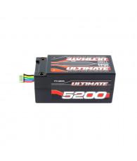 Accu UR Lipo 4S Shorty 110C 5200mah PK5 - ULTIMATE - UR4433