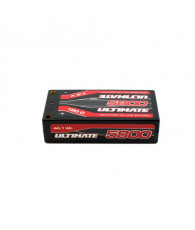 Accu Lipo 2S HV GRAPHENE Shorty 120C 5800mah PK5  - ULTIMATE - UR4442