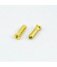 5.0mm BULLET CONNECTOR MALE (2pcs) - UR46110 - ULTIMATE