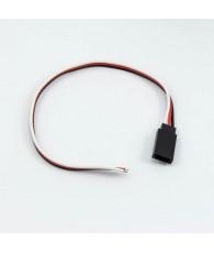 Prise Futaba femelle avec câble (20cm) - ULTIMATE - UR46136