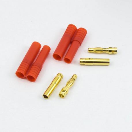 Prises PK 4mm male/femelle (2) - ULTIMATE - UR46206