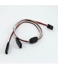 Connecteur Y Futaba (30cm) - ULTIMATE - UR46212