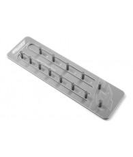 Support pignons M1.0 D5mm - 13 pignons - CORALLY - C-16200