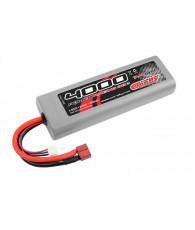 Lipo PowerRacing 30C 4000mah 2S T-Plug - CORALLY - C-48230-D