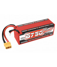 Lipo SportRac. 50C 6750mah 4S Stick XT90 - CORALLY - C-49430