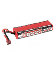 Lipo SportRacing 50C 4500mah 2S Stick - CORALLY - C-49440