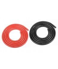 Fil Noir et Rouge 12AWG D4.5mm - 2x1m - CORALLY - C-50112