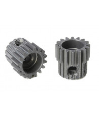 TEAM CORALLY - 48 DP PINION - SHORT - HARD ANODISED AL7075 - - C-7041