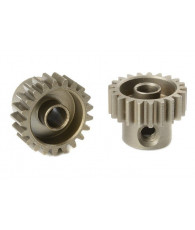 TEAM CORALLY - 48 DP PINION - SHORT - HARDENED STEEL - 21 TE - C-7142