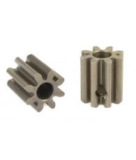 Pignon 8T Acier étroit -32 DP - D3.17mm - CORALLY - C-71508
