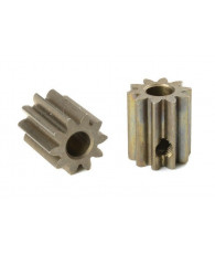 Pignon 10T Acier étroit - M0.6 - D3.17mm - CORALLY - C-71610