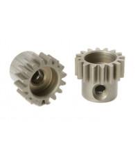 Pignon 16T Acier étroit - M0.6 - D3.17mm - CORALLY - C-71616