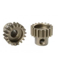 TEAM CORALLY - 32 DP PINION - SHORT - HARDENED STEEL - 18 TE - C-7251