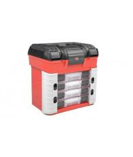 Caisse de stand - 4 boites + Mousse - CORALLY - C-90251
