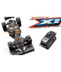 Combo kit XRAY X1'19 + servo SRT BH8015