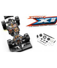 Combo kit Xray X1 2019 + Différentiel Xray 374901