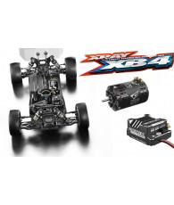 Combo kit Xray XB4 2019 + Ensemble variateur/moteur Corally