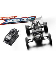 Combo kit XRAY XB2'19 + servo SRT BH8015