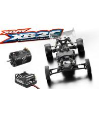 Combo kit Xray XB2C 2019 + Ensemble variateur/moteur Corally