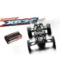 Combo kit Xray XB2C 2019 + accu Corally C-49605