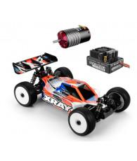 Combo kit Xray XB8E 2019 + Ensemble variateur/moteur Corally