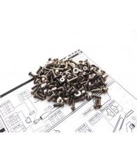 GTX8'17 Titanium Hex Socket Screw Set - 48166 - HIRO SEIKO