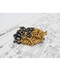 A800X Titan/Alum Hex Socket Screw Set - 48185 - HIRO SEIKO