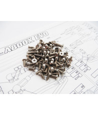 A800X EVO Titanium Hex Socket Screw Set - 48430 - HIRO SEIKO