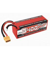 Lipo SportRac. 50C 5400mah 4S Stick XT90 - CORALLY - C-49429