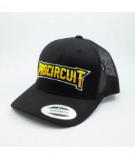 Casquette Procircuit Trucker noire - PROCIRCUIT - PC0013