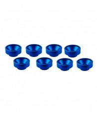 Rondelles de servos M3 - Bleu (8pcs) - ULTIMATE - UR1507-A
