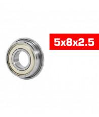 Roulements métal HS 5x8x2.5 épaulés (2pcs) - ULTIMATE - UR7822-2