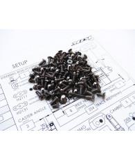 Kit de visserie titane hexagonale MRX6 - HIRO SEIKO - 48051