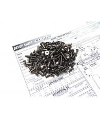 COBRA SRX8 Titanium Hex Socket Screw Set - 48179 - HIRO SEIKO