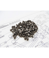 A800X Titanium Hex Socket Screw Set - 48184 - HIRO SEIKO