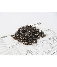 T4'18 Titanium Hex Socket Screw Set - 48199 - HIRO SEIKO