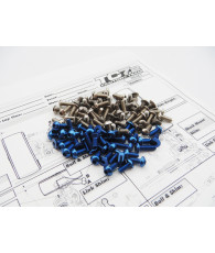 RC10TC7.1 Titan/Alum Hex Socket Screw Set - 48394 - HIRO SEIKO