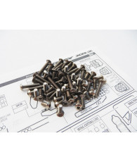 XB2C'19 Titanium Hex Socket Screw Set - 48402 - HIRO SEIKO
