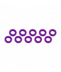 Rondelles 3x6x1mm - Violet (10pcs) - ULTIMATE - UR1505-P