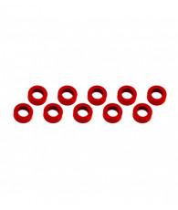 Rondelles 3x6x2mm - Rouge (10pcs) - ULTIMATE - UR1506-R