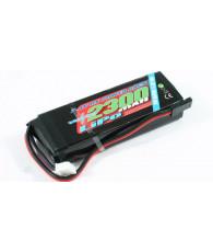 VOLTZ 2300mah 2S 7.4V RX LiPo STRAIGHT BATTERY PACK - VZ0270 - VOLTZ