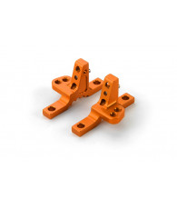 T4'19 ALU UPPER CLAMP WITH 2 ADJ. ROLL-CENTERS (L+R) - ORANGE - 30203