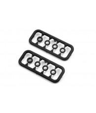 Rondelles plastique (3x1mm/1x2mm) (2) - XRAY - 303129