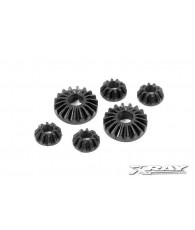 COMPOSITE GEAR DIFF BEVEL & SATELLITE GEARS (2+4) - 304930 - XRAY