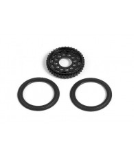 TIMING BELT PULLEY 38T FOR MULTI-DIFF - 305158 - XRAY
